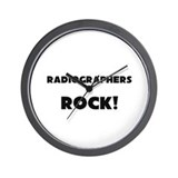 Radiographers ROCK Wall Clock