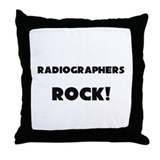 Radiographers ROCK Throw Pillow
