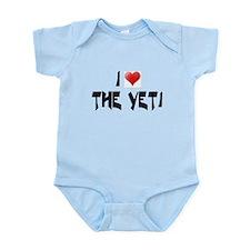 I LOVE THE YETI Infant Creeper