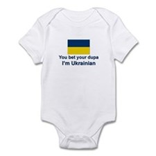 Ukrainian Dupa Infant Bodysuit