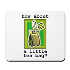 """Tea Bag"" Mousepad"