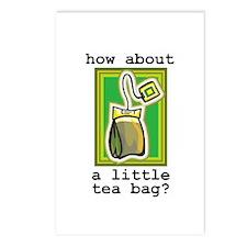 """""""Tea Bag"""" Postcards (Package of 8)"""