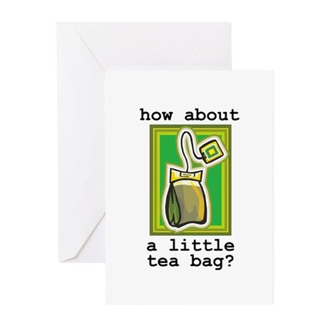 """Tea Bag"" Greeting Cards (Pk of 10)"