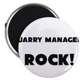 "Quarry Managers ROCK 2.25"" Magnet (10 pack)"