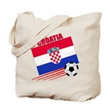Croatia Soccer Team Tote Bag