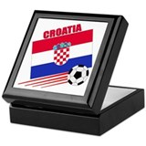 Croatia Soccer Team Keepsake Box