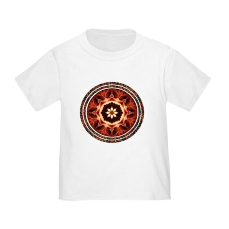 Kaleidoscope Rose Toddler T-Shirt