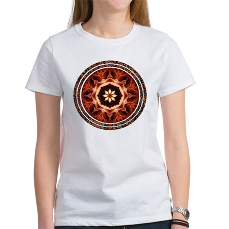 Kaleidoscope Rose Women's T-Shirt