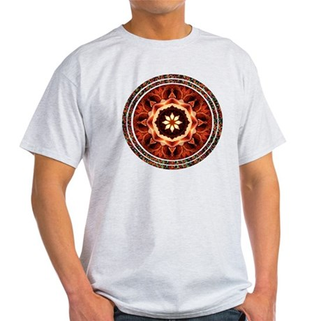 Kaleidoscope Rose Light T-Shirt