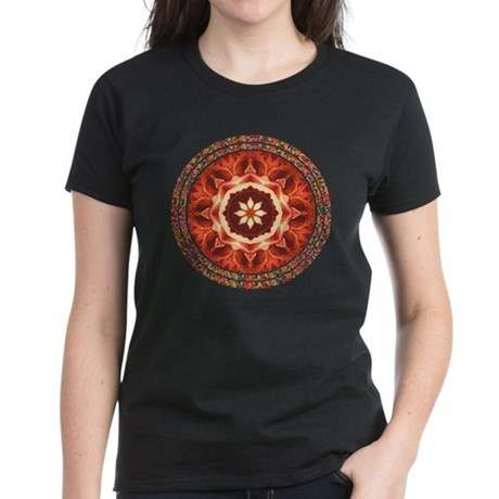 Kaleidoscope Rose Women's Dark T-Shirt