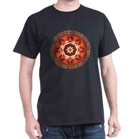Kaleidoscope Rose Dark T-Shirt