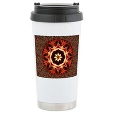Kaleidoscope Rose Ceramic Travel Mug