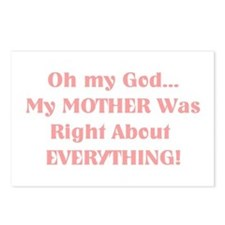 Mother Was Right! Postcards (Package of 8)