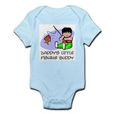 Daddy's Little fishing Buddy Infant Bodysuit