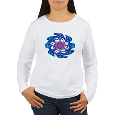 Cyberdelic Kaleidoscope Women's Long Sleeve T-Shir