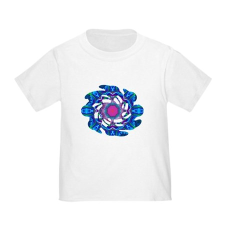 Cyberdelic Kaleidoscope Toddler T-Shirt