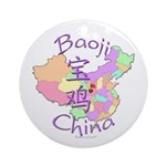 Baoji China Ornament (Round)