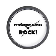 Psychobiologists ROCK Wall Clock
