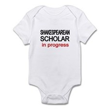 Shakespearean Scholar Infant Bodysuit