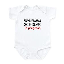 Shakespearean Scholar Infant Bodysuit
