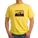 Mission San Xavier del Bac Yellow T-Shirt