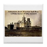 Mission San Xavier del Bac Tile Coaster