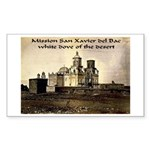 Mission San Xavier del Bac Rectangle Sticker