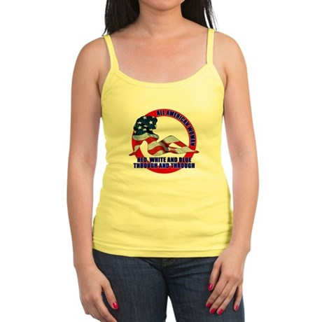 All American Woman Jr. Spaghetti Tank