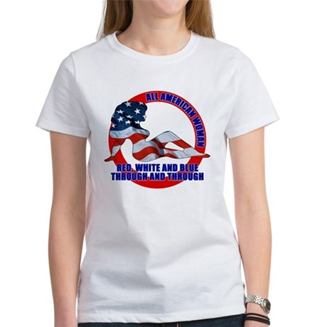 All American Woman Women's T-Shirt