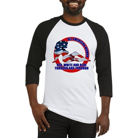 All American Woman Baseball Jersey