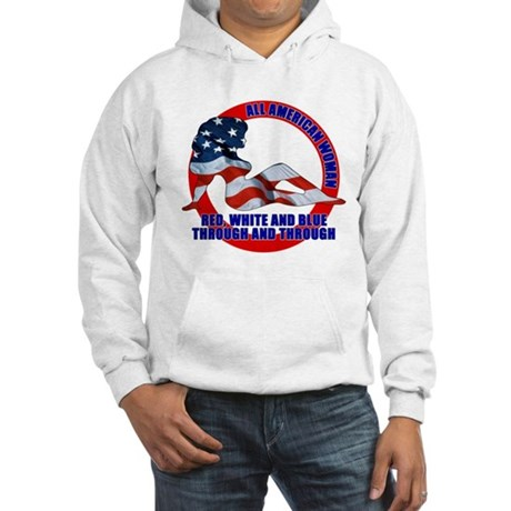 All American Woman Hooded Sweatshirt