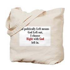 Politics & Patriotism Tote Bag