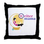 Writer Mama Throw Pillow