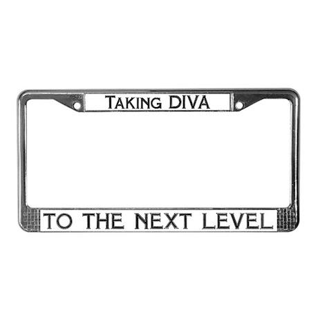 Taking Diva License Plate Frame