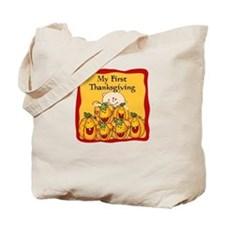 1st Thanksgiving Pumpkins Tote Bag