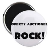 "Property Auctioneers ROCK 2.25"" Magnet (10 pack)"
