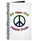 Hippie Dude 85th Birthday Journal