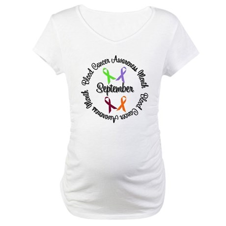 Blood Cancer Maternity T-Shirt