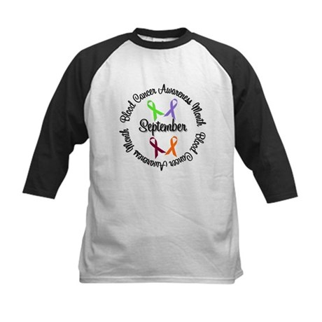 Blood Cancer Kids Baseball Jersey