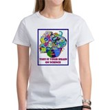 science brain Tee