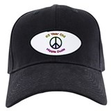 Hippie Dude 65th Birthday Baseball Hat