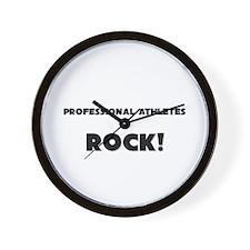 Professional Athletes ROCK Wall Clock