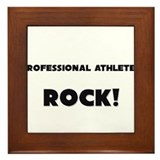 Professional Athletes ROCK Framed Tile