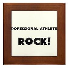 Professional Athletes ROCK Framed Tile