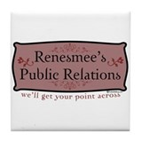 Renesmee's Public Relations Tile Coaster