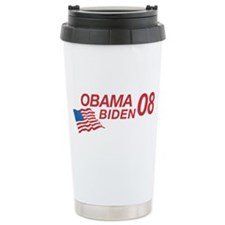 Obama/Biden 08 Ceramic Travel Mug