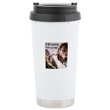 Creation of Adam Ceramic Travel Mug