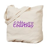 Courtney-csv Tote Bag