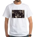 Three Absinthe Drinkers White T-Shirt