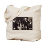 Three Absinthe Drinkers Tote Bag